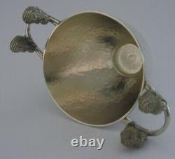 RARE ANCIENT GREEK SOLID STERLING SILVER CUP c1970 GREECE ILIAS LALAOUNIS 98g