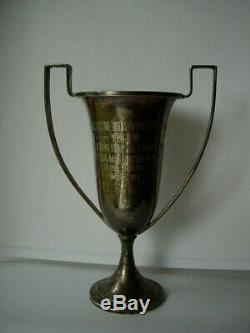 RARE Vintage Sterling Silver 925 Loving Cup 1928 Horse Show Trophy Accessory