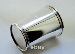 Rare Lunt Sterling Silver Mint Julep Cup 3759 Monogrammed