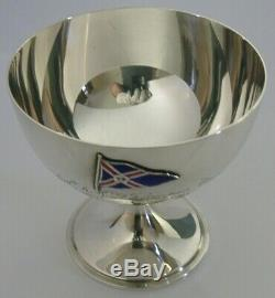 Rare Sterling Silver London To Cowes Yacht Race Trophy Cup 1934 Sailing Antique