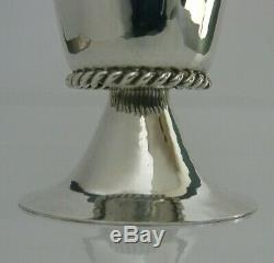 Rare Sterling Silver Worshipful Company Armourers & Brasiers Cup Chalice 1936