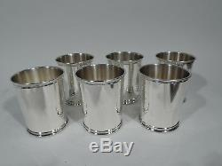 Reed & Barton Mint Julep Cups X253 American Sterling Silver Carter 1977/81