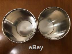 Revere Silversmith Sterling Silver Pair Mint Julep Cups