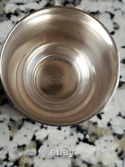 S. Kirk & Son 253 Sterling Silver Double Jigger Shot Cup 1950s
