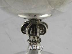 SMART A E JONES SOLID STERLING SILVER LINCOLN CATHEDRAL CHALICE CUP 1972 177 g