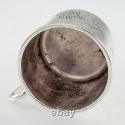 Sanborns Sterling Silver Made in Mexico Animal Kid's Cup 2357