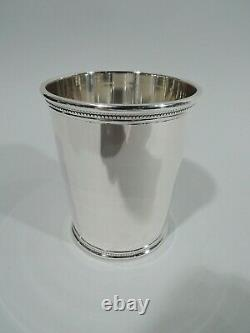 Scearce Mint Julep Cup Rare JFK American Sterling Silver Kennedy 1961/3