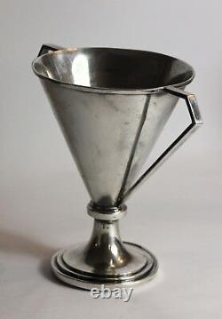 Scots Guard military WWII boxing trophy cup 1941 solid sterling silver deco