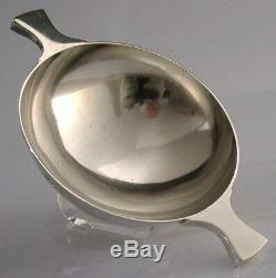Scottish Solid Sterling Silver Whisky Quaich Cup 1977 Cecil Frederick Coyler