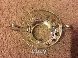 Set Of 12 Tiffany & Co Sterling Silver Tea Coffee Soup Cup Holder 1250 Grams