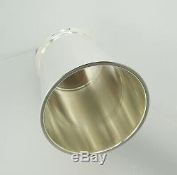 Sterling Silver Mint Julep Cup FISHER 87 Extra Large New 10 fl-oz