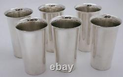 Sterling Silver Mint Julep Cups Tall Tumblers