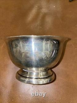 Sterling Silver Trophy CUP Horse Racing'66 CARLISLE FAIR 3 YEAR OLD FILLY COLT