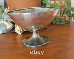 Sterling Silver baptism Cup Bowl Footed chalice antique BAILEY BANKS BIDDLE CO