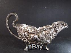 Sterling Stieff STIEFF ROSE GRAVY BOAT #162 A No Underplate holds 1 cup
