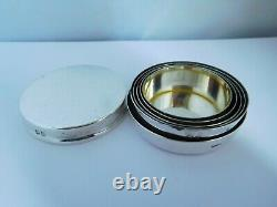 Superb Edwardian English Sterling Silver Collapsible Cup Hunting / Fishing Etc