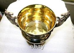 Superb George III Sterling Silver Napoleonic Wars Presentation Cup