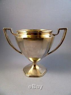 TIFFANY & CO. STERLING SILVER LOVING CUP. TROPHY. Tournament