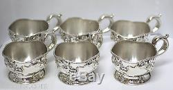 Theodore B. Starr Sterling Silver Cup Holders