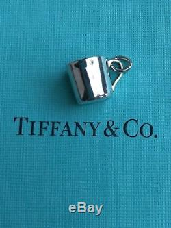 Tiffany & Co Baby Children Cup Alphabet Charm Pendant Sterling Silver NO RESERVE