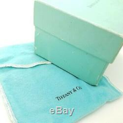 Tiffany & Co. Maker Sterling Silver Classic 2.5' In Child Baby Cup with Pouch Box
