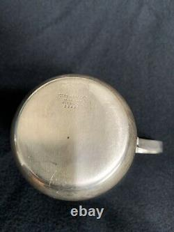 Tiffany & Co Makers Sterling Silver Baby Cup #23498 engraved