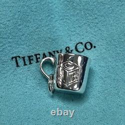 Tiffany & Co. Sterling Silver ABC Alphabet Baby Cup Charm
