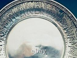 Tiffany & Co. Sterling Silver Baby Cup, Porringer and Plate Set, Nursery Rhyme