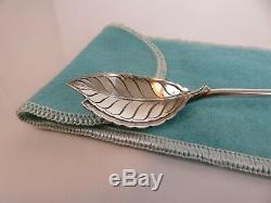 Tiffany & Co Sterling Silver Iced Tea Mint Julep Cup Bar Spoon Straw & Pouch
