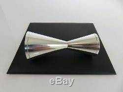 Tiffany & Co Tall Mid Century Modern Sterling Silver Double Shot Jigger Cup
