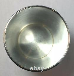 Tiffany Sterling Silver Mint Julep Cup Excellent Condition Engraved S. V. H. S. 1966