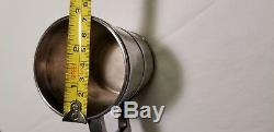 Tiffany and Co. Barrel Shaped Sterling Silver Cup JC Moore 1860's Antique Cup