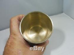 Towle Sterling Silver Mint Julep Cup 4.25 Troy Oz