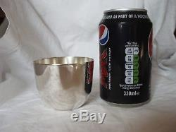 Tumbler Cup Late Victorian Sterling Silver London 1900