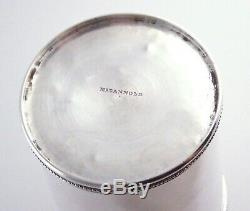 Ultra Rare Antique'McDannold' Sterling Silver Mint Julep Cup (1829-1850)