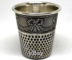 VTG Authentic Christian Dior Christofle Sterling Silver Thimble Cup/Shot Glass