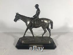 Very Rare Solid Sterling MEADOWBROOK CUP 1933 Steeplechase Trophy