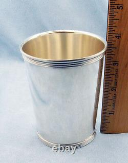 Very Rare Vintage ALVIN S251 Solid Sterling Silver Derby Mint Julep Cup, No MONO