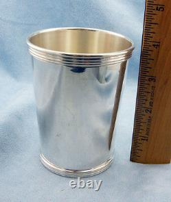 Vintage 101 Sterling Silver Mint Julep Cup by International withEngraving