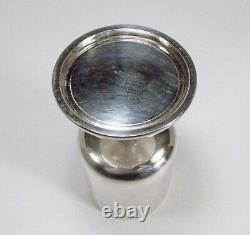 Vintage 1967 Royal Irish Silver Co. Dublin Sterling Silver MCM Small Goblet Cup