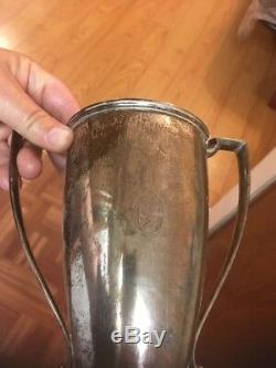 Vintage R. Wallace & Sons sterling silver trophy cup, Monogram O