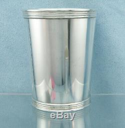 Vintage Sterling Silver Derby Mint Julep Cup by Trees Lexington Kentucky, No MONO