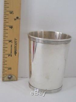Vintage Sterling Silver Julep Cup Marked Sterling. Pre-Owned