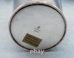 Vintage Sterling Silver Mint Julep Cup 3759 by Manchester, No Monogram