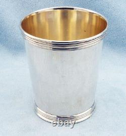 Vintage Sterling Silver Mint Julep Cup by TREES, No Monograms