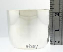Vintage Tiffany & Co # 23351 Sterling Silver Classic Baby Cup 2 1/8 No Mono