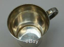Vintage Tiffany & Company Stlerling Silver Baby Cup With Handle