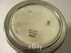 Vintage UK Sterling Silver Collapsible Cup Birmingham Military or Travel 69.6g