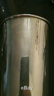 Vintage lot of 4 950 Sterling silver Julep-tumbler cup