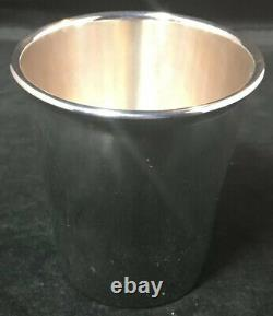 Wallace Sterling Silver Mint Julep Cup # 131 No Monogram Heavy Gauge